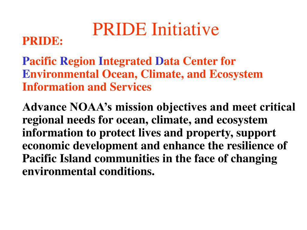 PRIDE Initiative