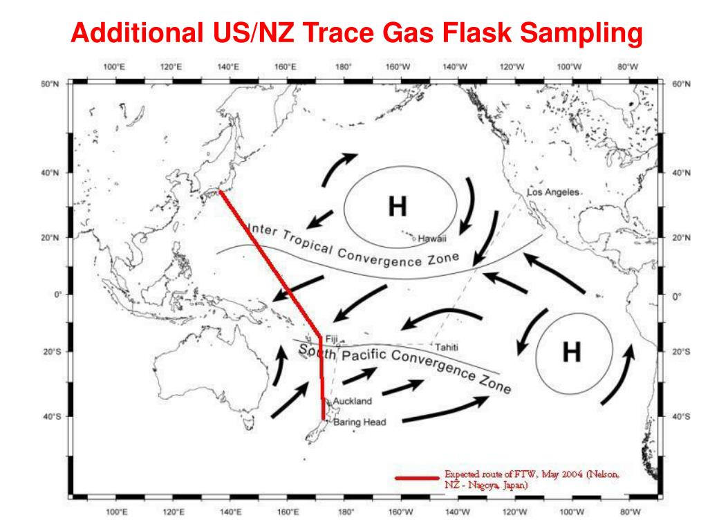 Additional US/NZ Trace Gas Flask Sampling