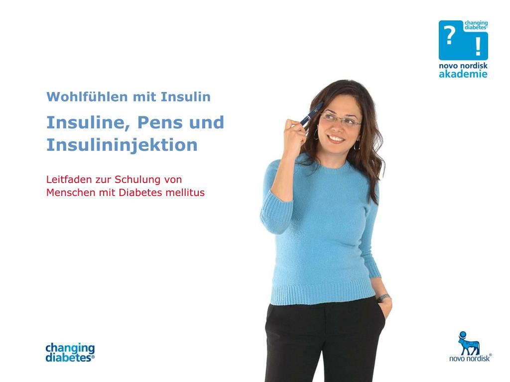 Wohlfühlen mit Insulin