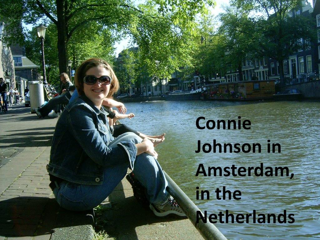 Connie Johnson in Amsterdam,