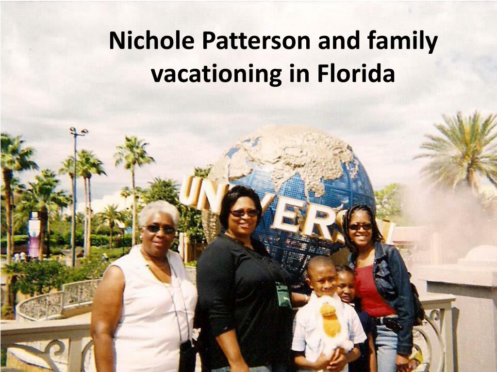 Nichole Patterson and family