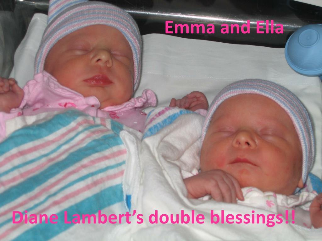 Emma and Ella