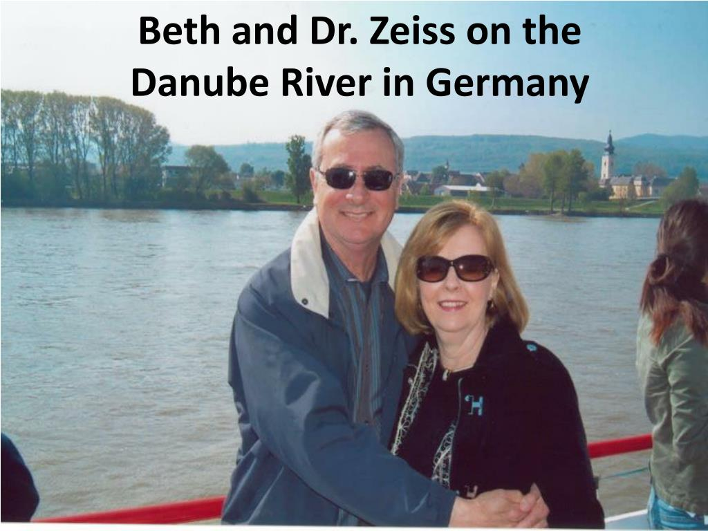 Beth and Dr. Zeiss on the