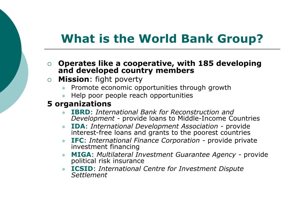 What is the World Bank Group?