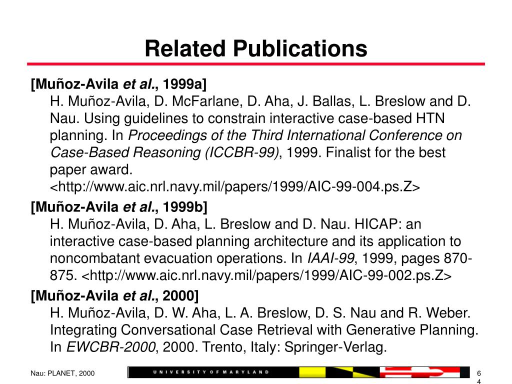 Related Publications