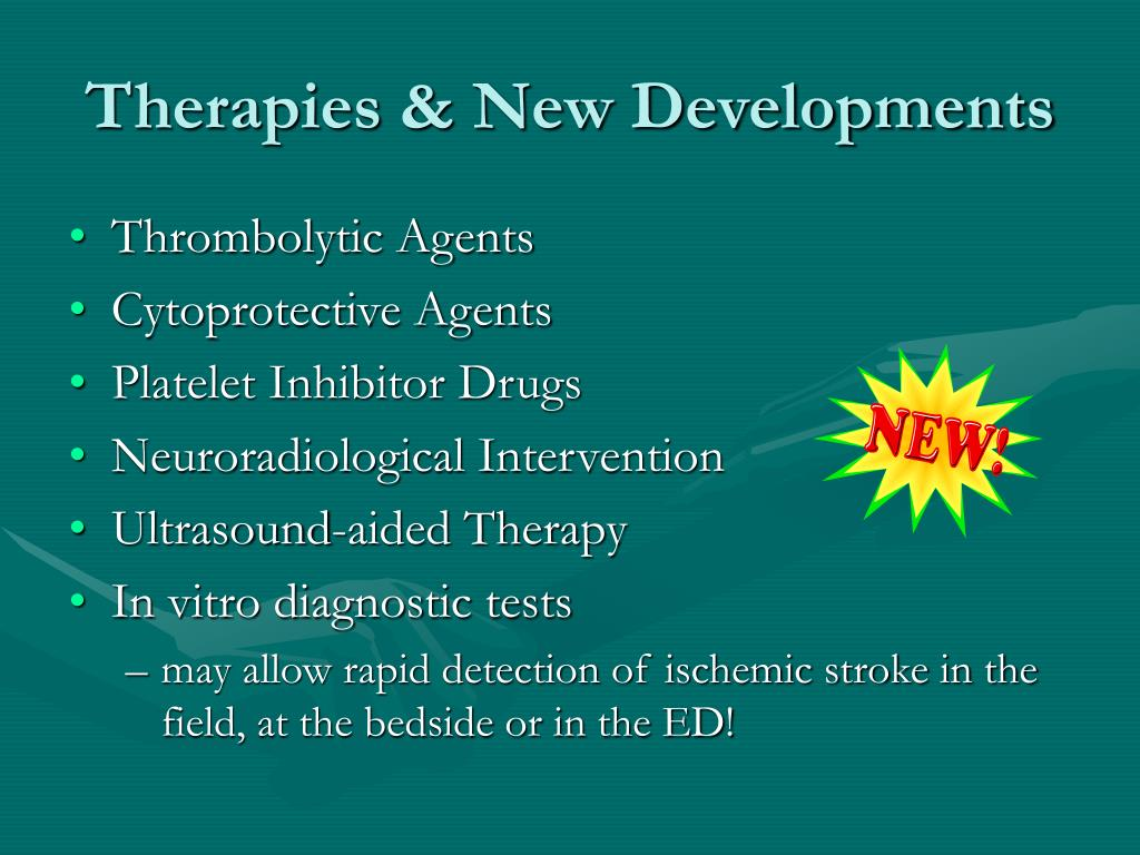 Therapies & New Developments