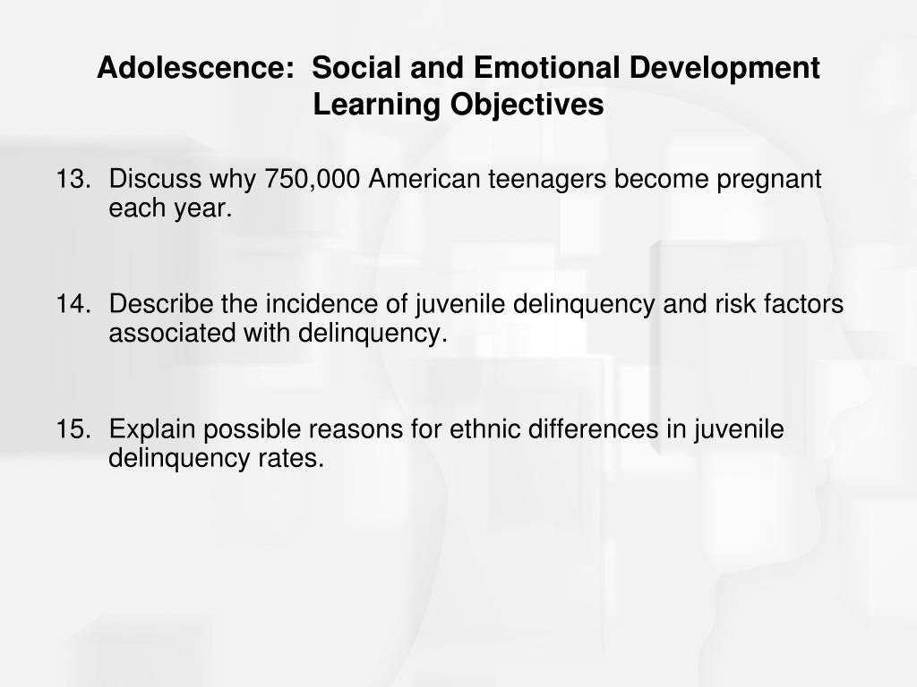 adolescence - learning and development essay Listed below are links related to infancy, adoption, childhood development, child protection, parenting, adolescence, and more the following table shows a.