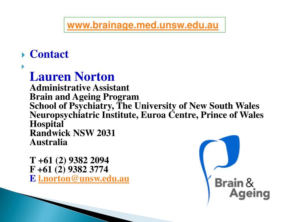 www.brainage.med.unsw.edu.au