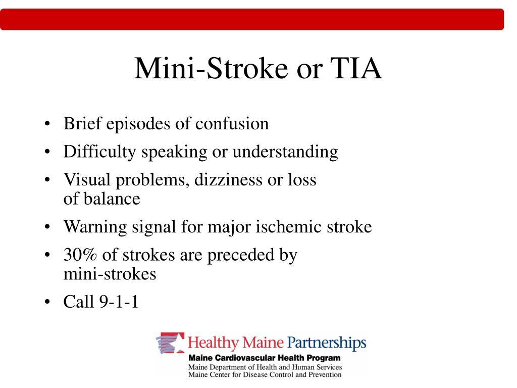 Mini-Stroke or TIA
