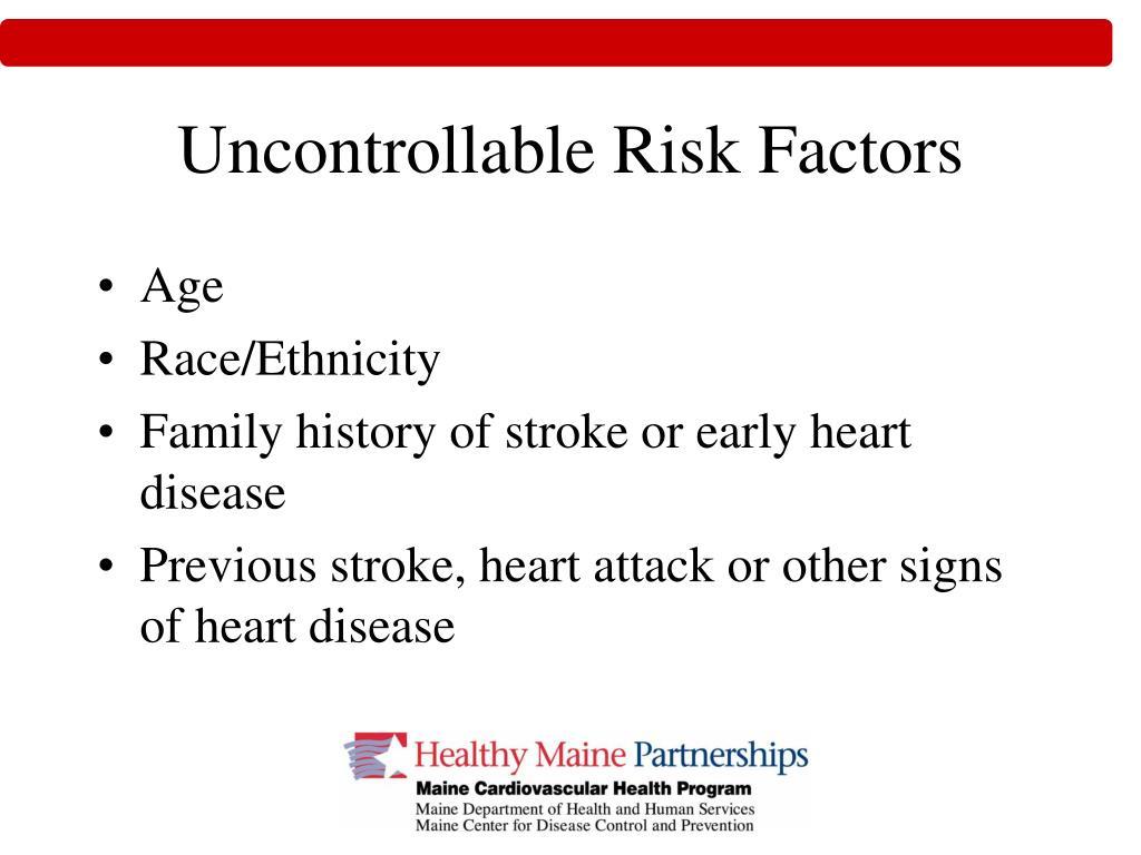 Uncontrollable Risk Factors