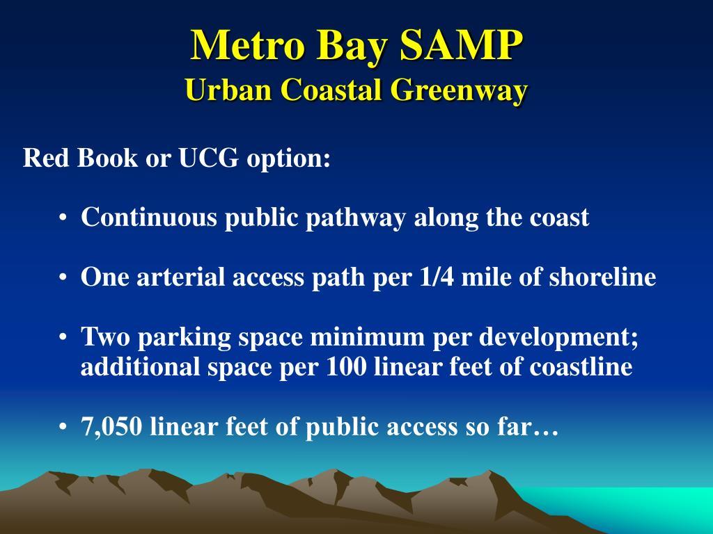 Metro Bay SAMP