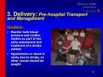 3 delivery pre hospital transport and management39