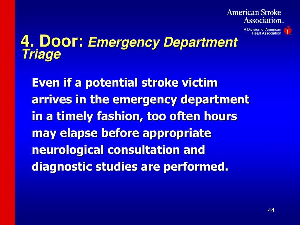 4. Door: