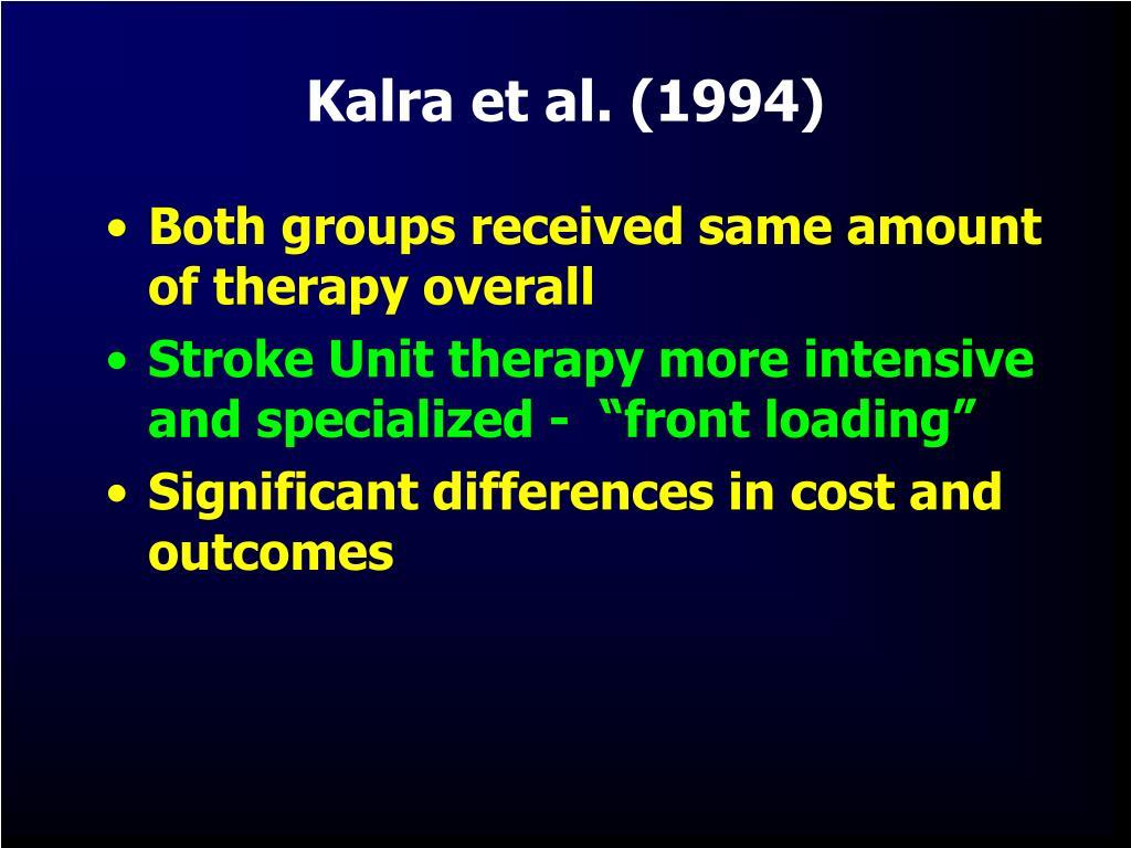 Kalra et al. (1994)