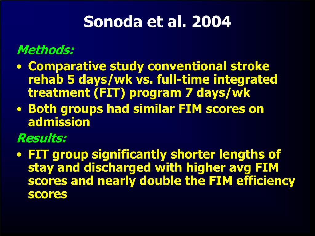 Sonoda et al. 2004