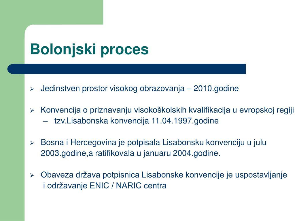 Bolonjski proces
