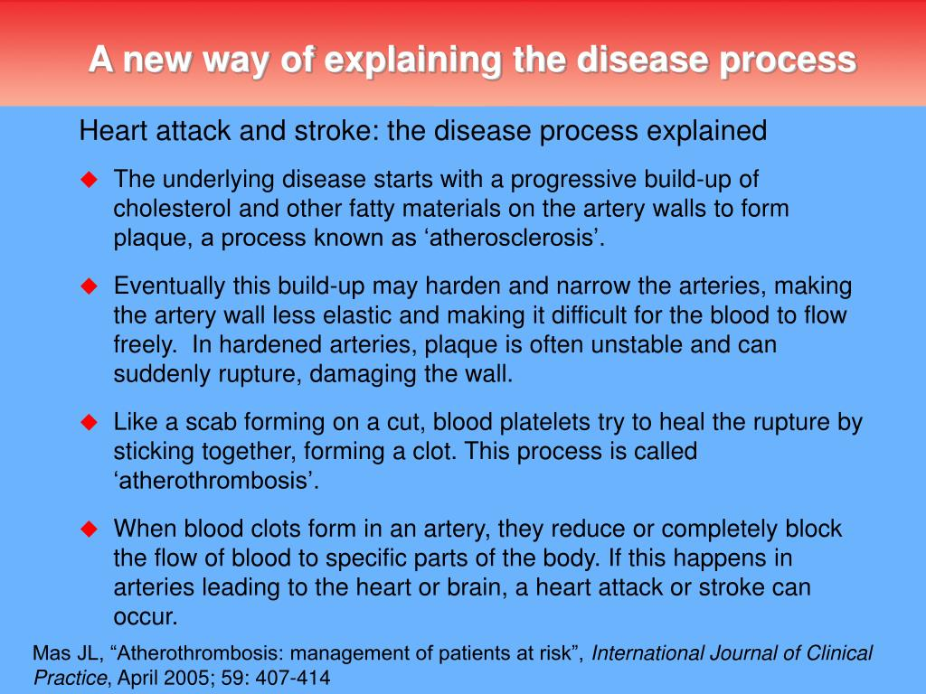 A new way of explaining the disease process