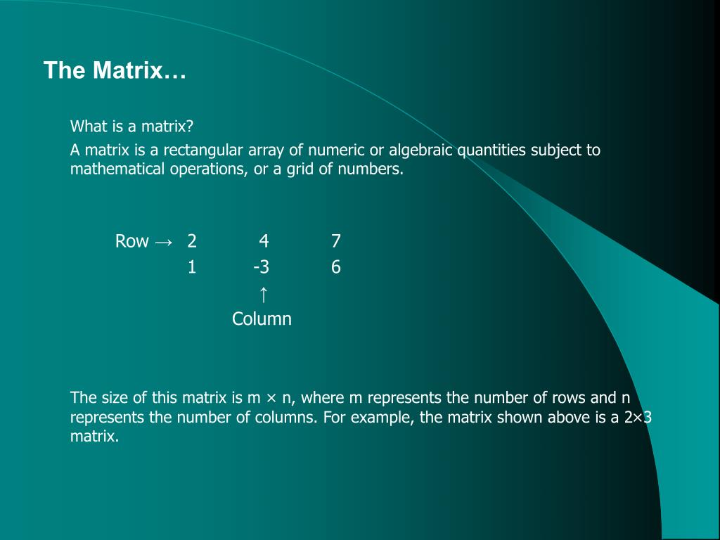 theoretical matrix Scribd is the world's largest social reading and publishing site.