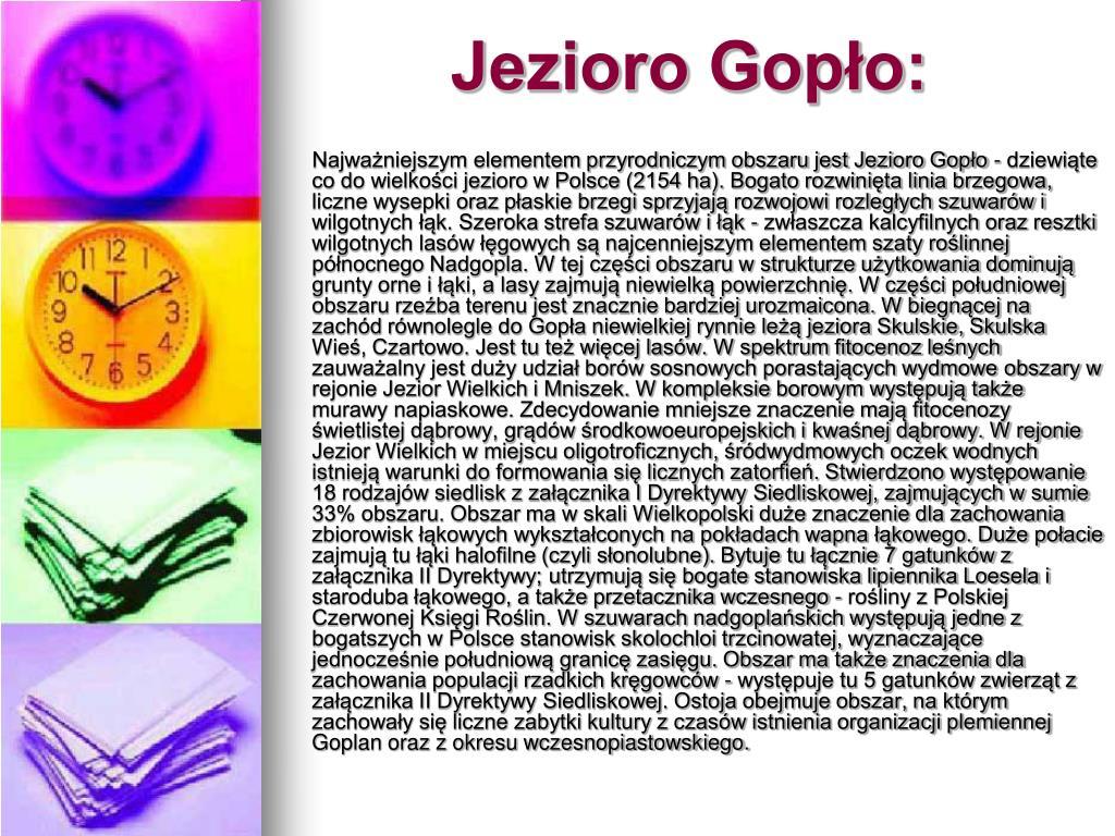 Jezioro Gopło: