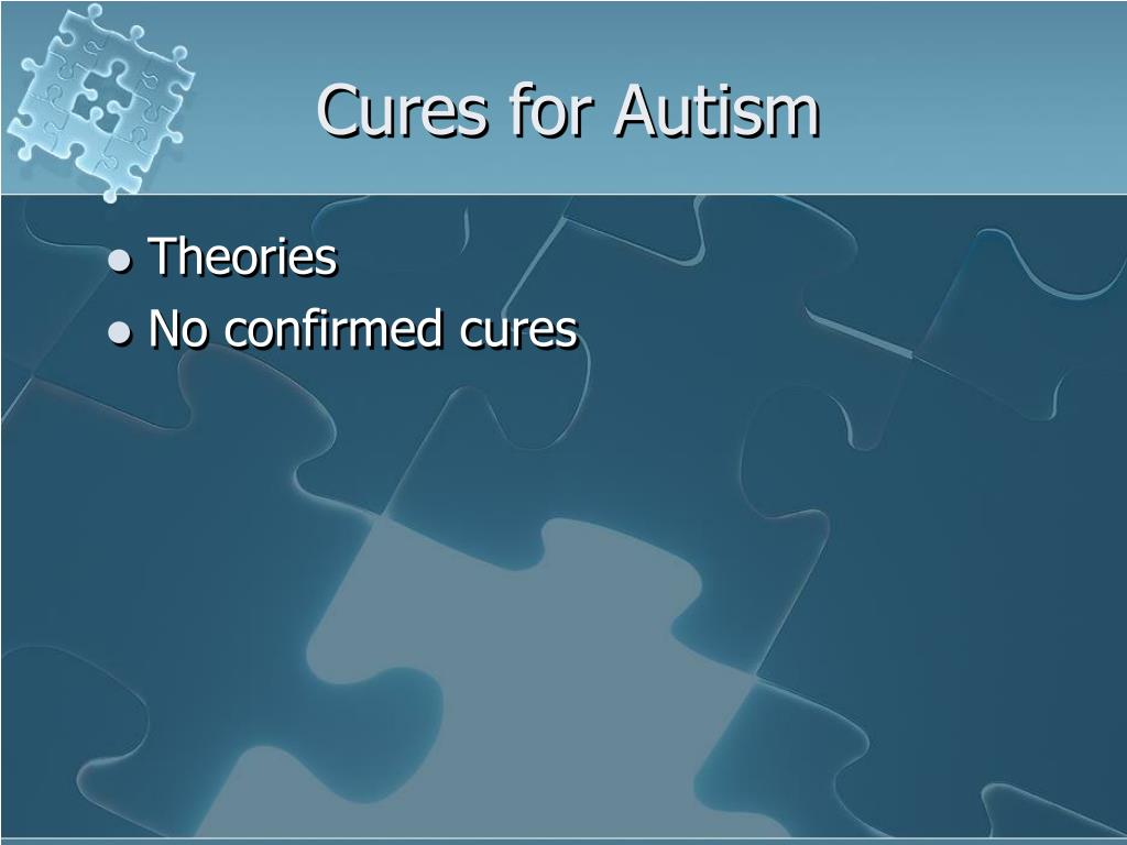 Cures for Autism