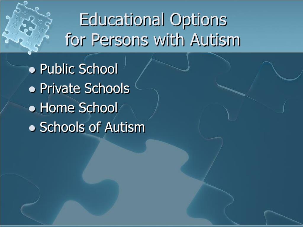 Educational Options