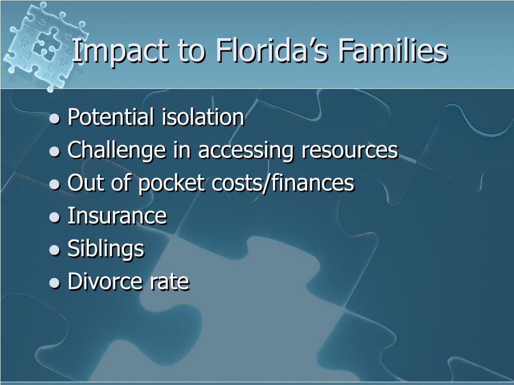 Impact to Florida's Families
