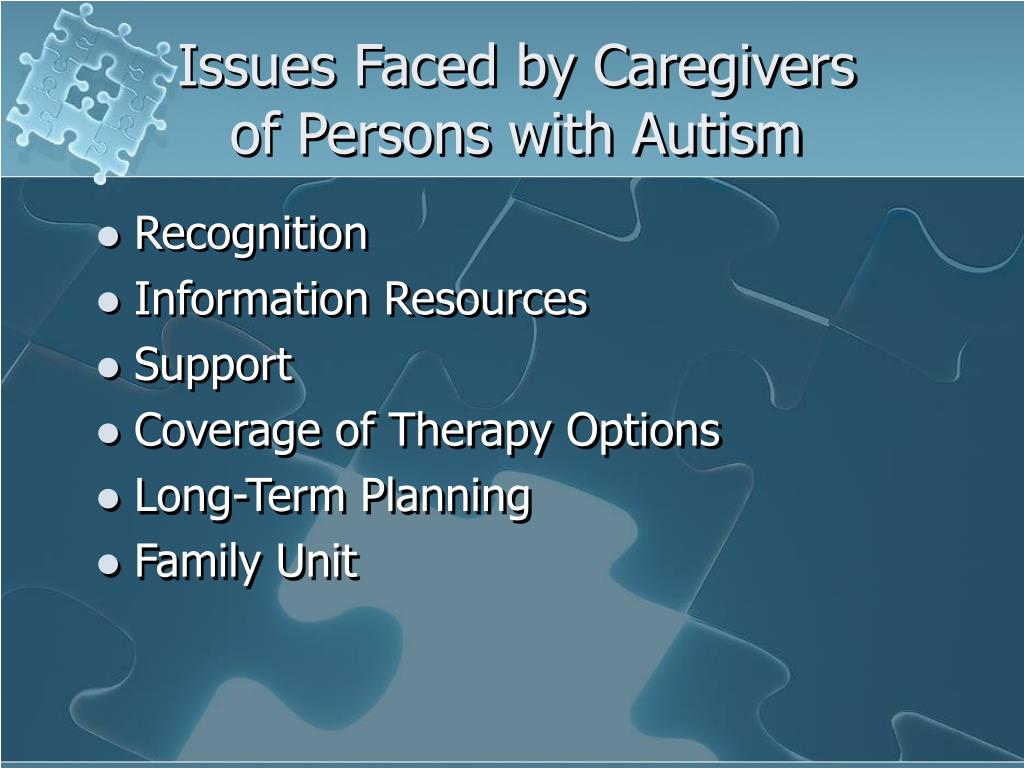 Issues Faced by Caregivers