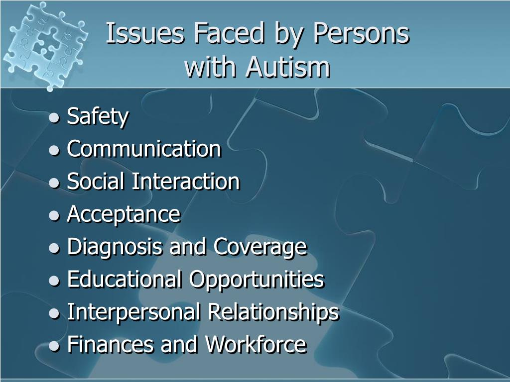 Issues Faced by Persons