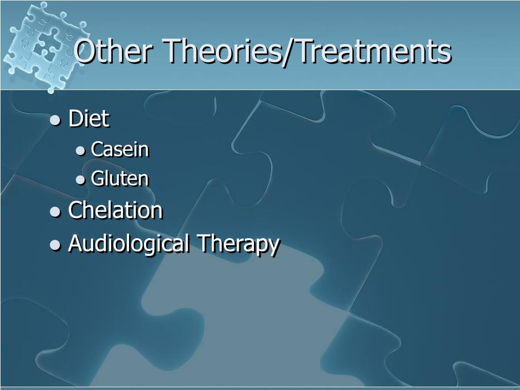 Other Theories/Treatments