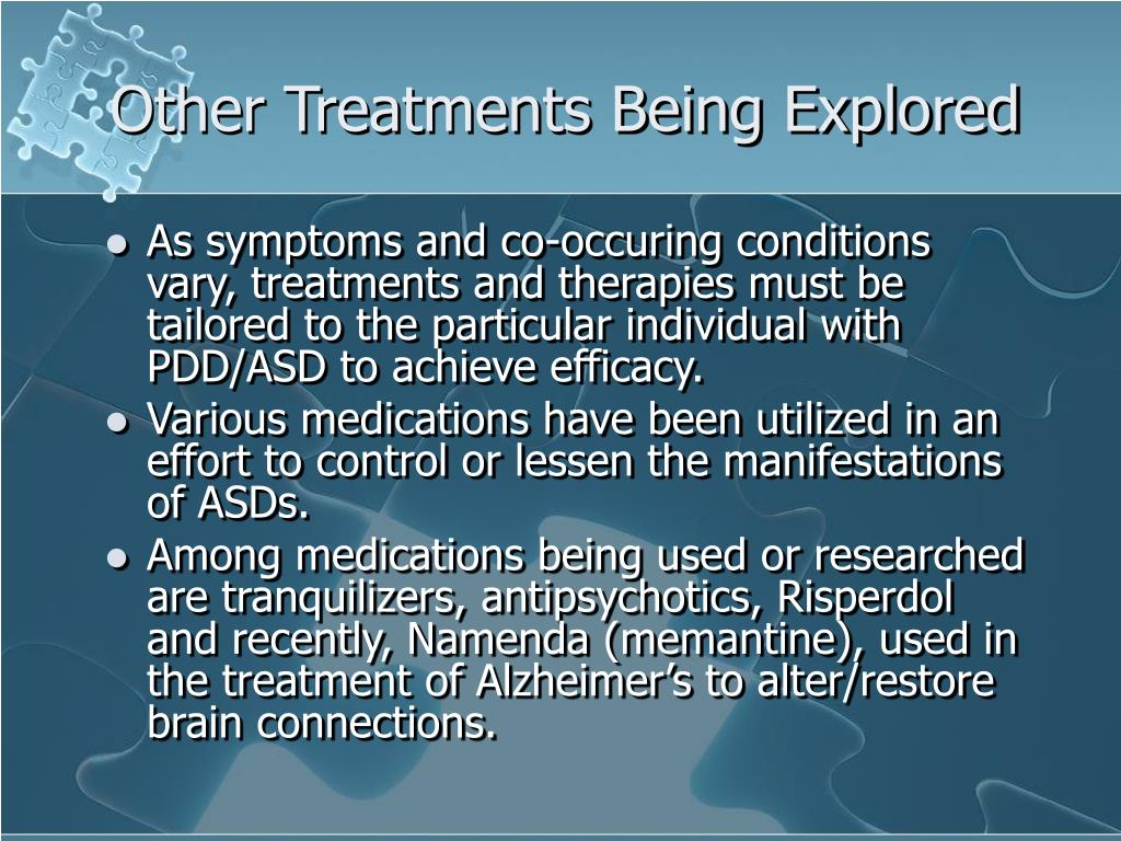 Other Treatments Being Explored
