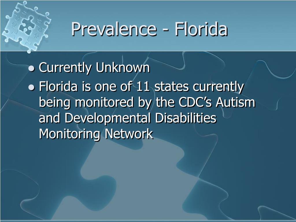 Prevalence - Florida