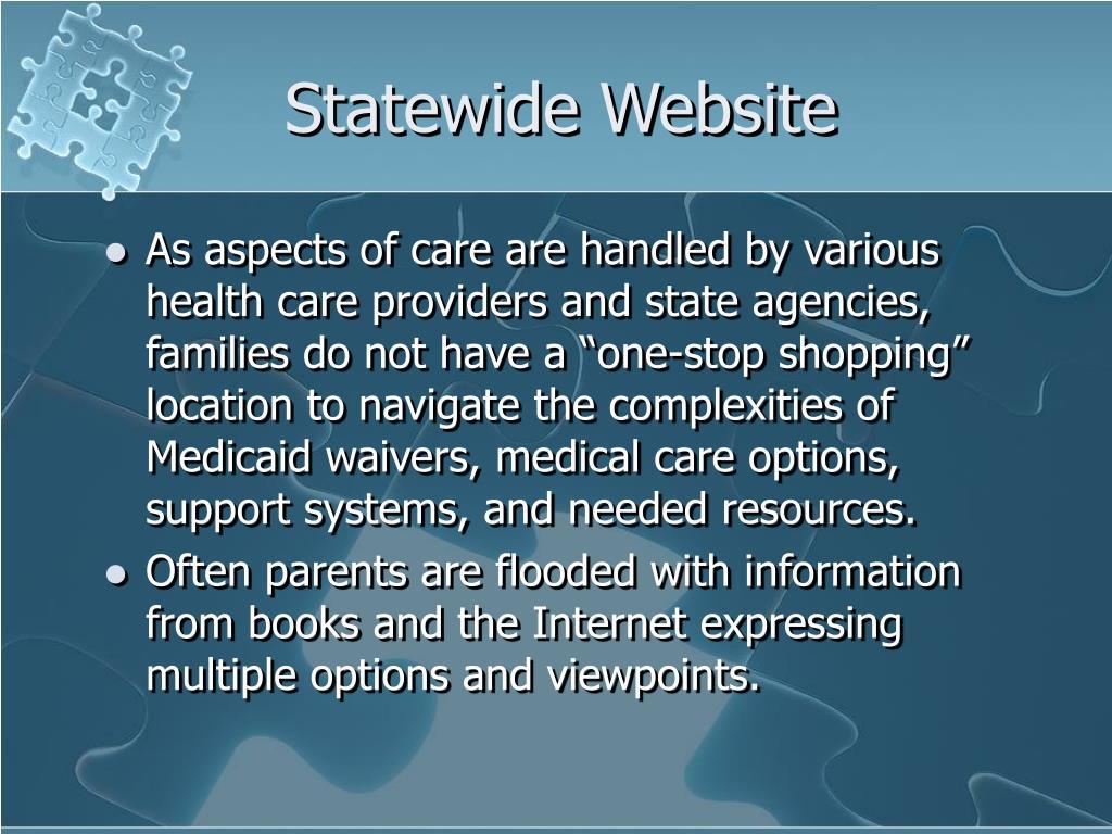 Statewide Website