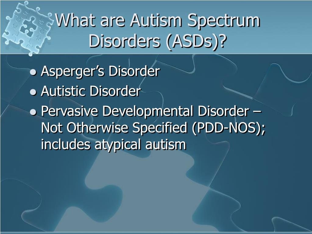 What are Autism Spectrum Disorders (ASDs)?