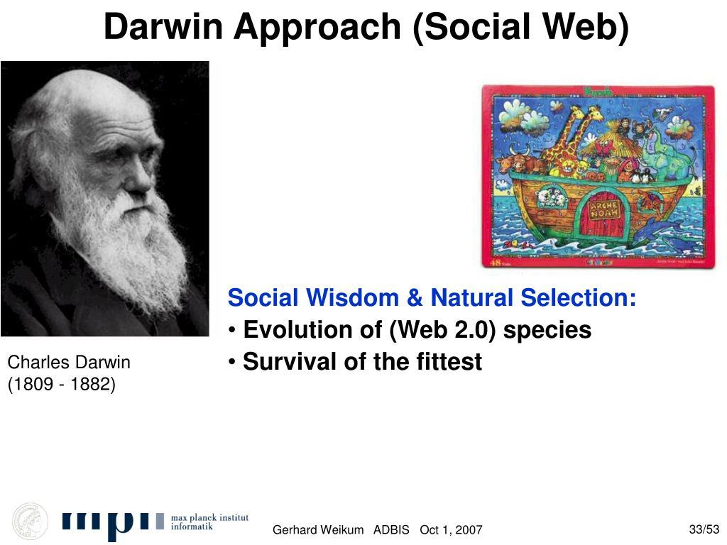 Darwin Approach (Social Web)