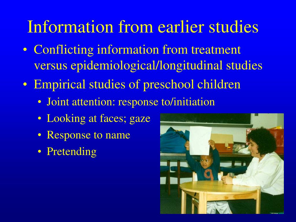 Conflicting information from treatment versus epidemiological/longitudinal studies