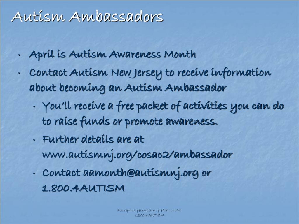 Autism Ambassadors