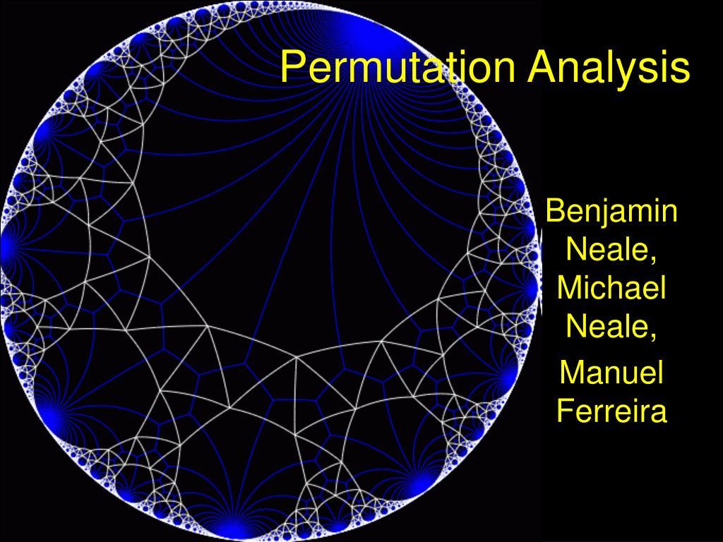 Permutation Analysis