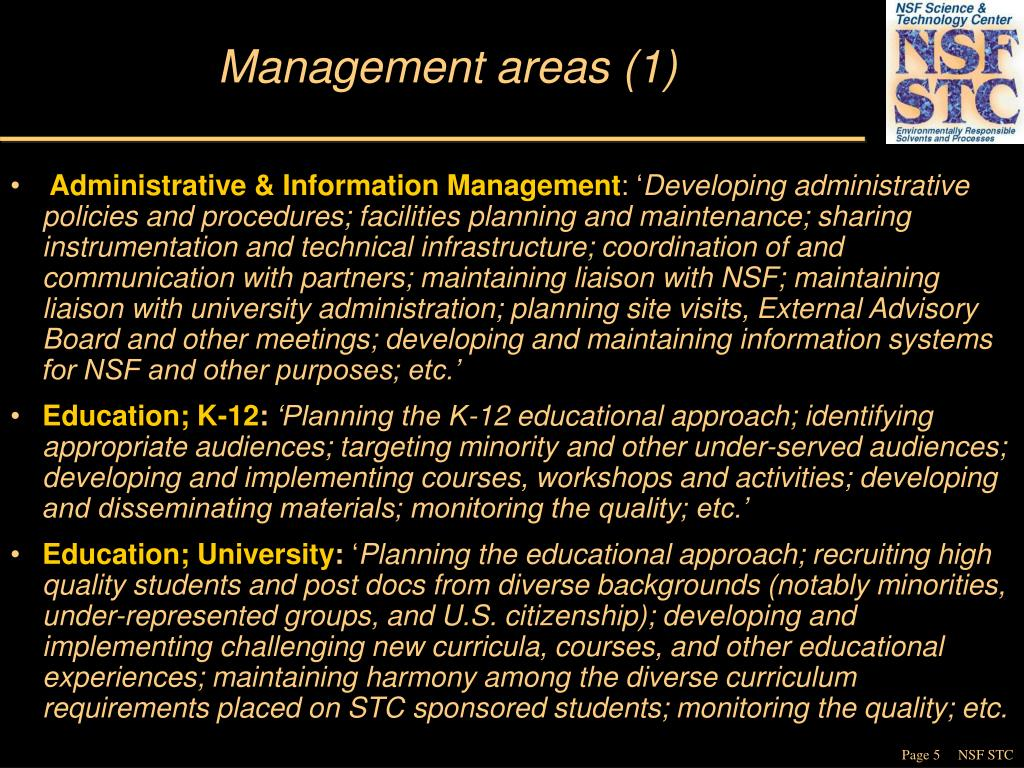 Management areas (1)