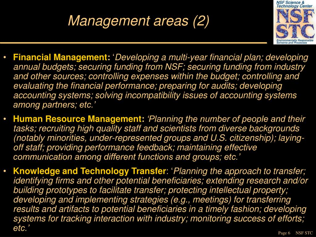 Management areas (2)
