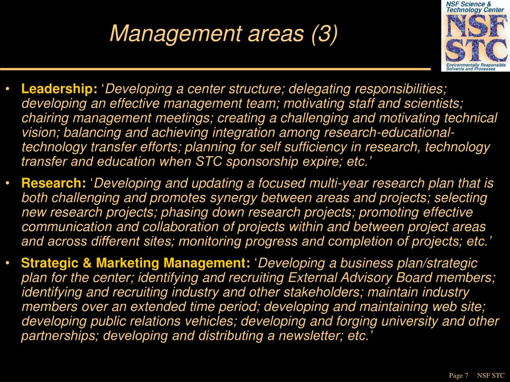 Management areas (3)