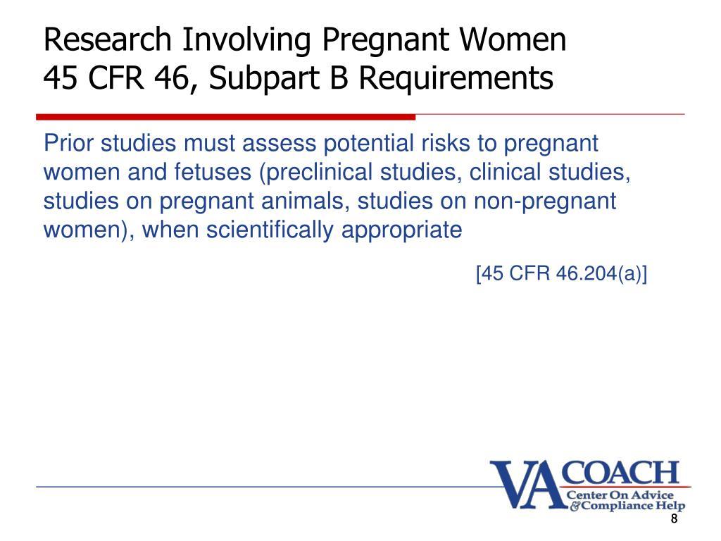 Research Involving