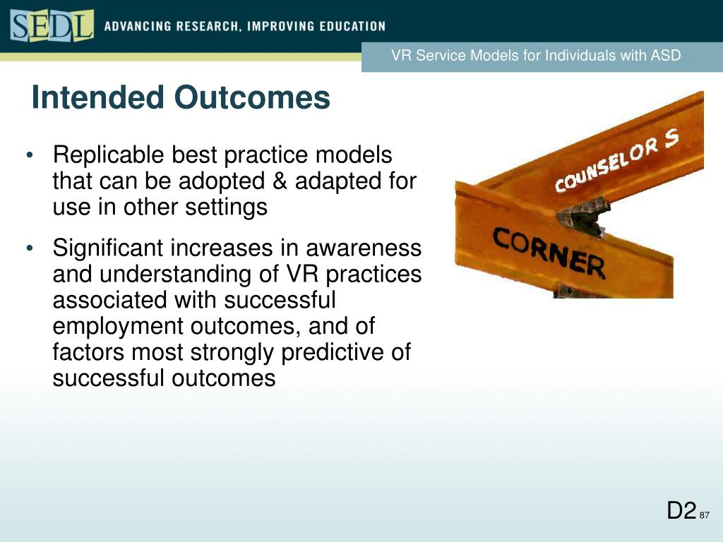 Intended Outcomes
