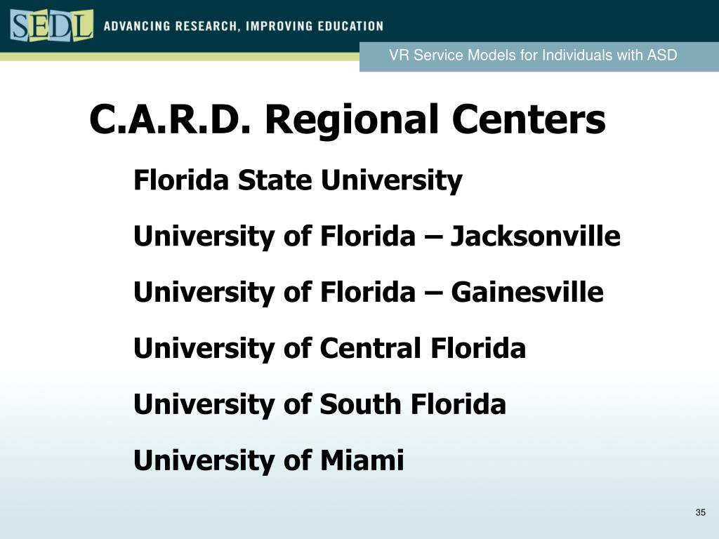 C.A.R.D. Regional Centers