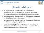 results children