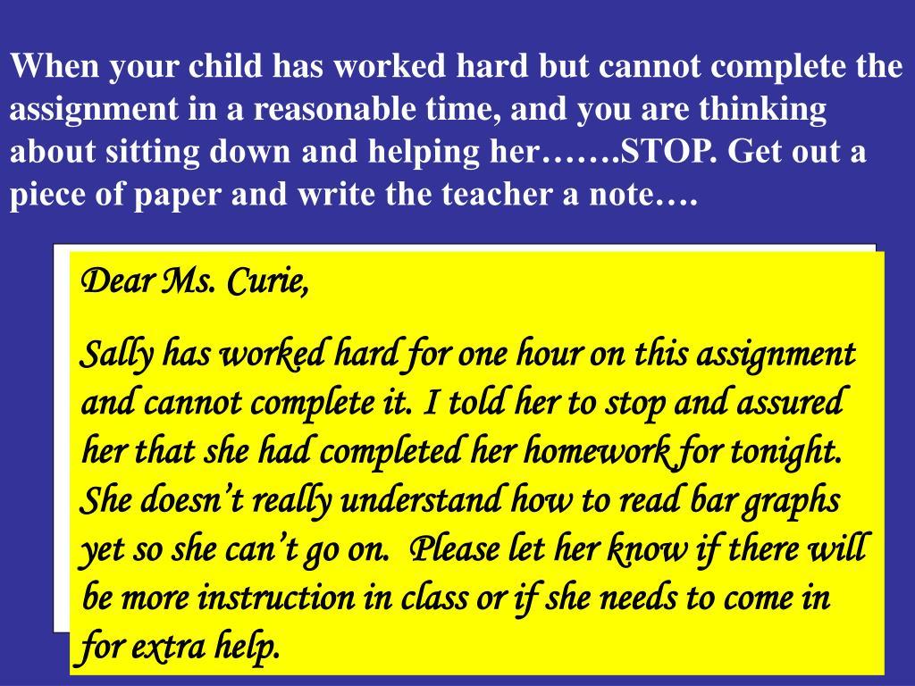 Dear Ms. Curie,