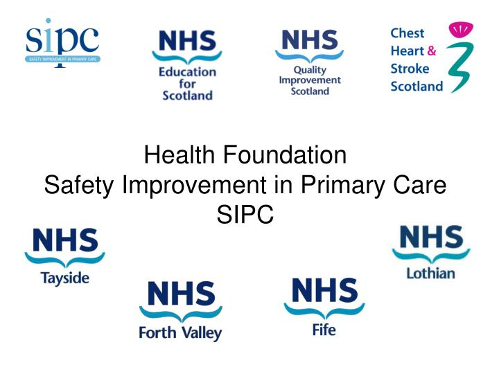 Health foundation safety improvement in primary care sipc l.jpg