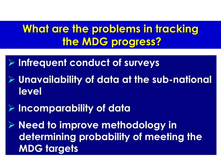 What are the problems in tracking