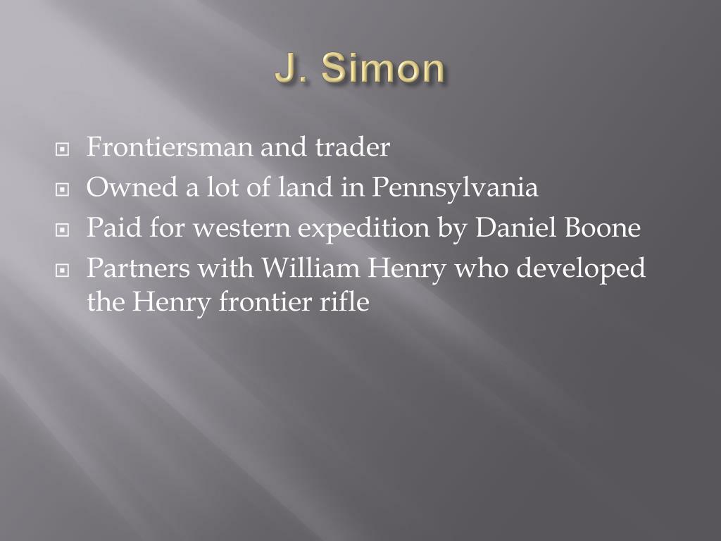 J. Simon