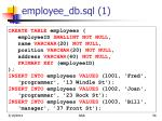 employee db sql 156
