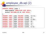 employee db sql 2